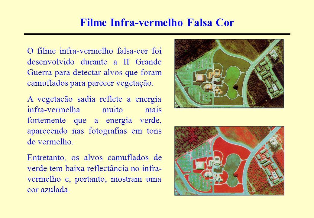 Filme Infra-vermelho Falsa Cor