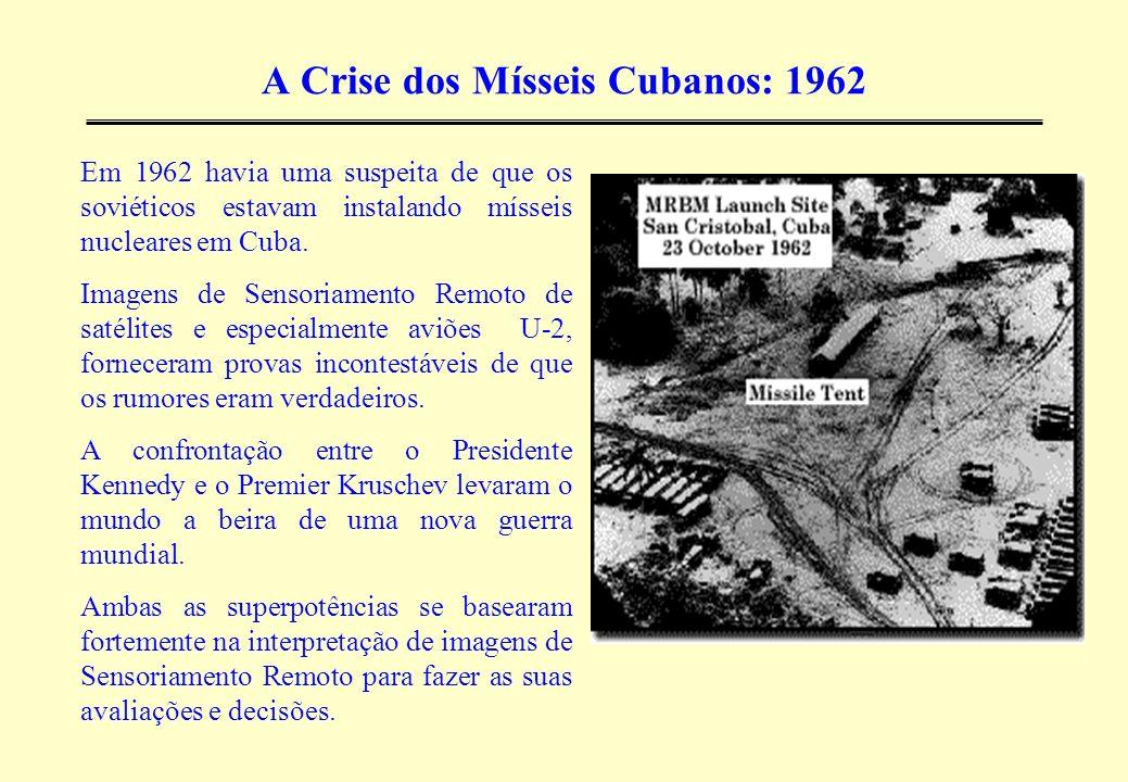 A Crise dos Mísseis Cubanos: 1962