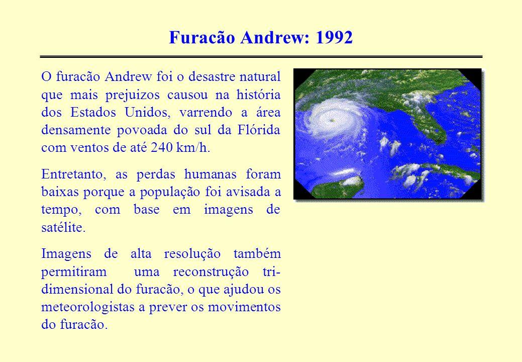 Furacão Andrew: 1992