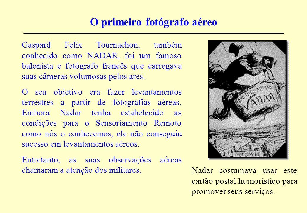 O primeiro fotógrafo aéreo