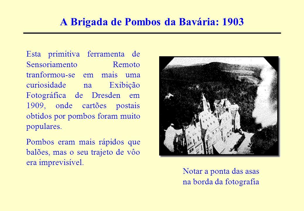 A Brigada de Pombos da Bavária: 1903