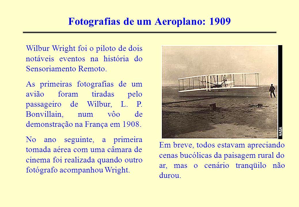 Fotografias de um Aeroplano: 1909