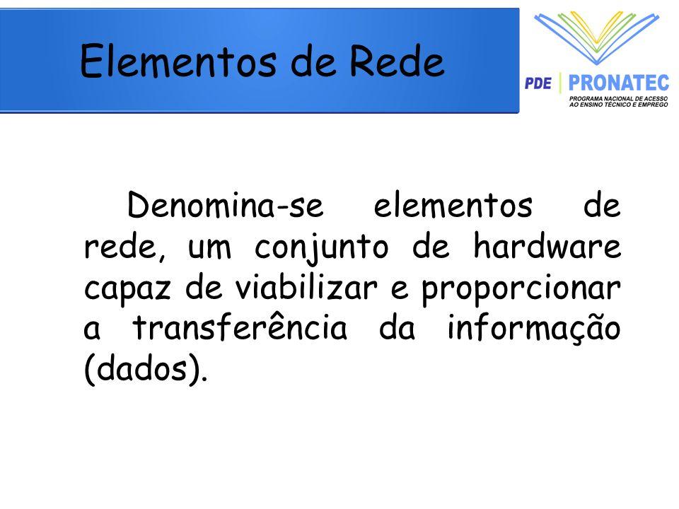 Elementos de Rede