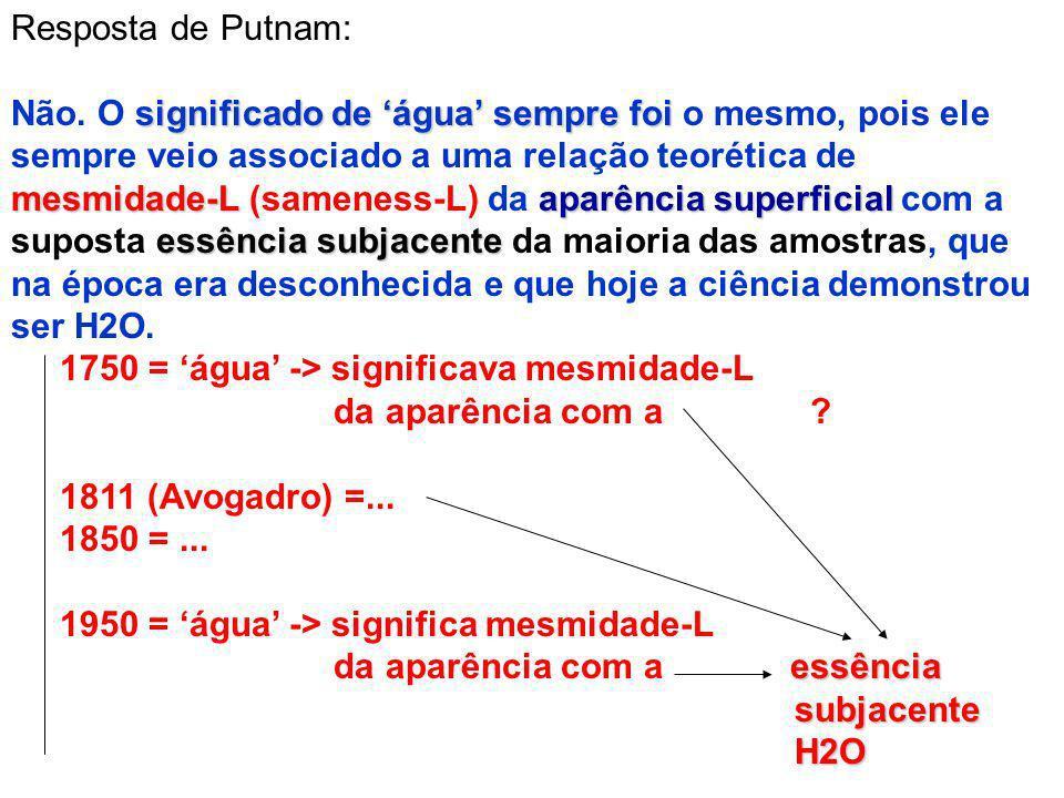 Resposta de Putnam: