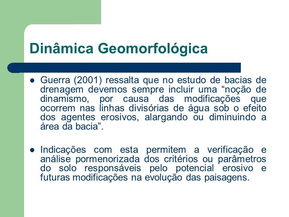 Dinâmica Geomorfológica
