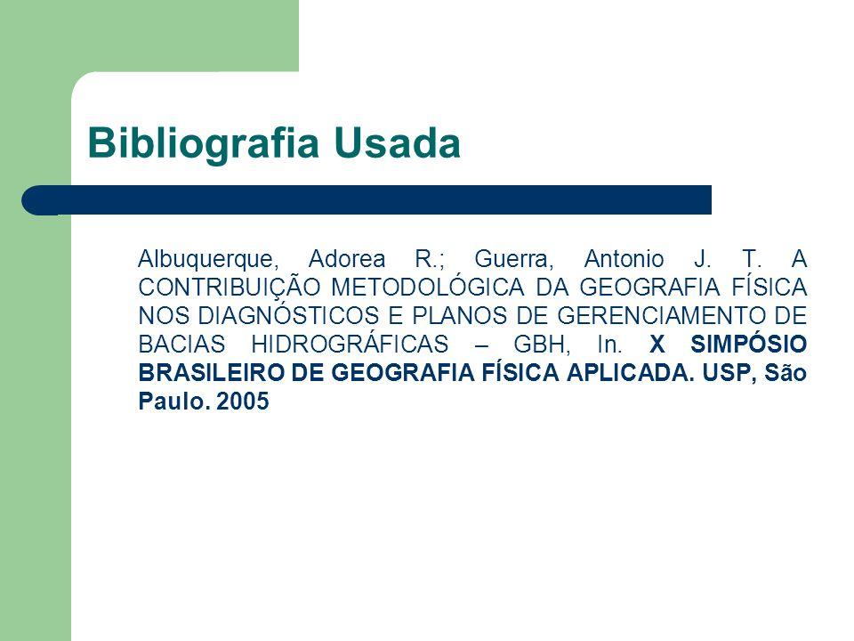Bibliografia Usada