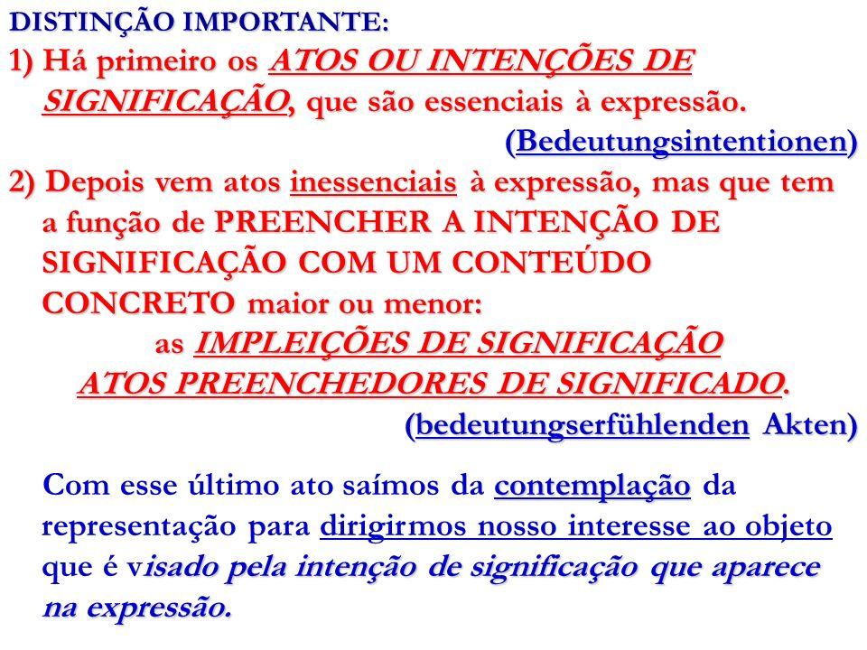 as IMPLEIÇÕES DE SIGNIFICAÇÃO ATOS PREENCHEDORES DE SIGNIFICADO.