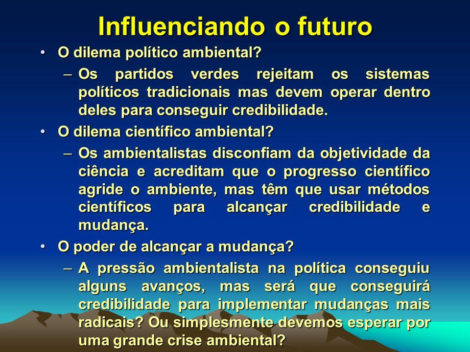Influenciando o futuro
