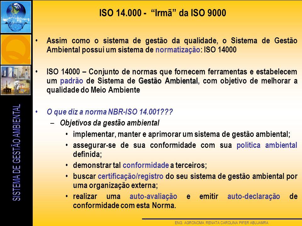 ISO 14.000 - Irmã da ISO 9000
