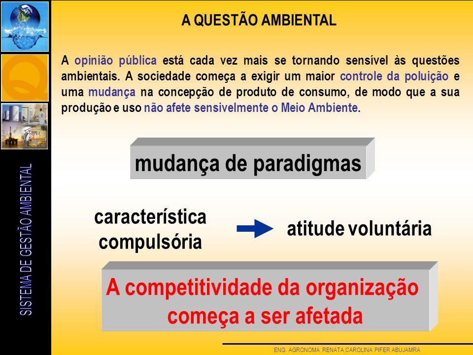 A competitividade da organização