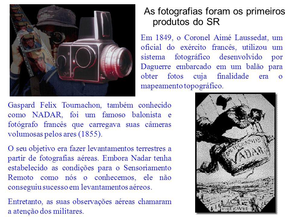 As fotografias foram os primeiros produtos do SR