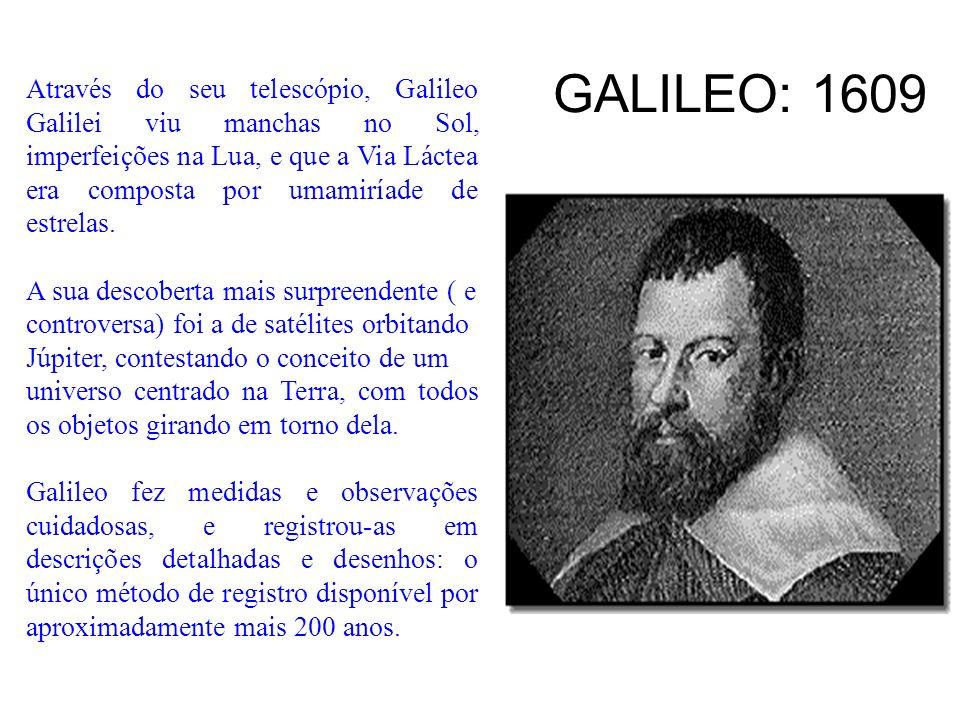 GALILEO: 1609