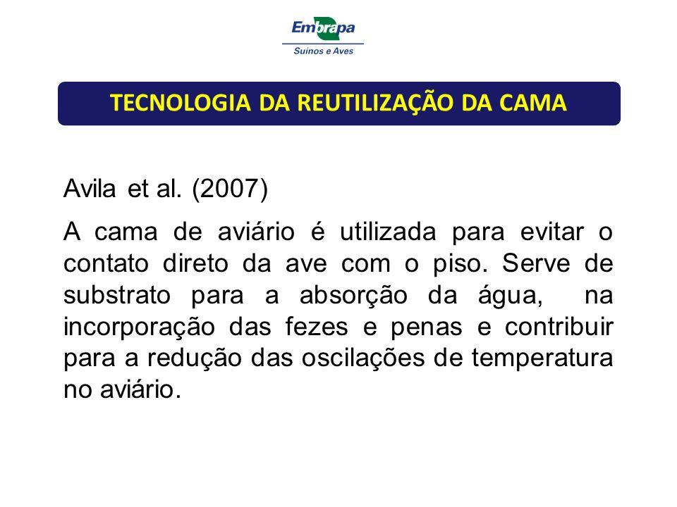 TECNOLOGIA DA REUTILIZAÇÃO DA CAMA