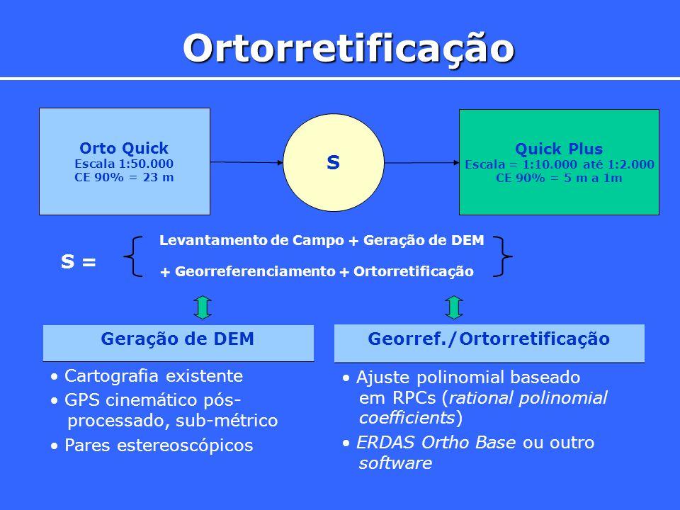 Georref./Ortorretificação