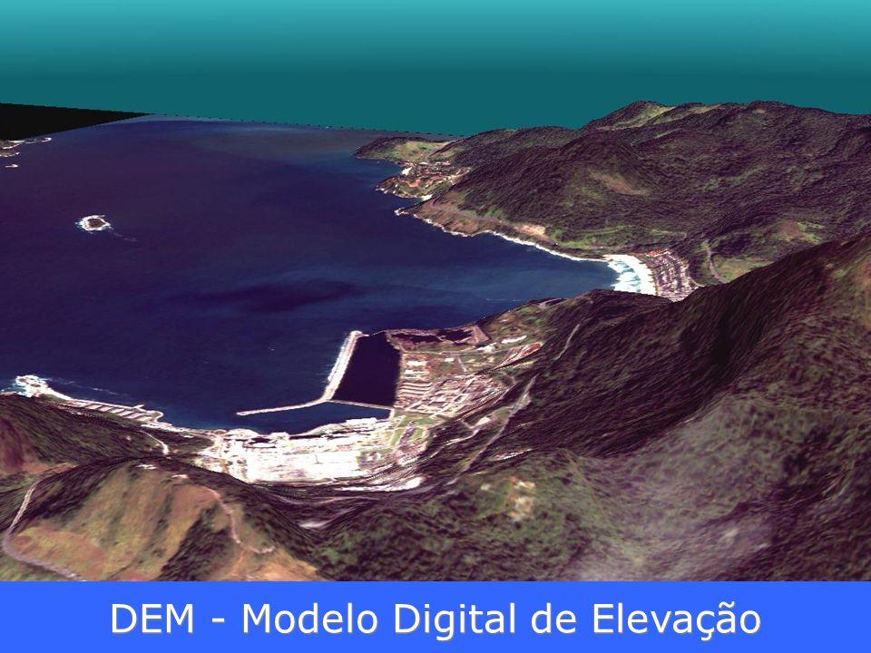 DEM - Modelo Digital de Elevação