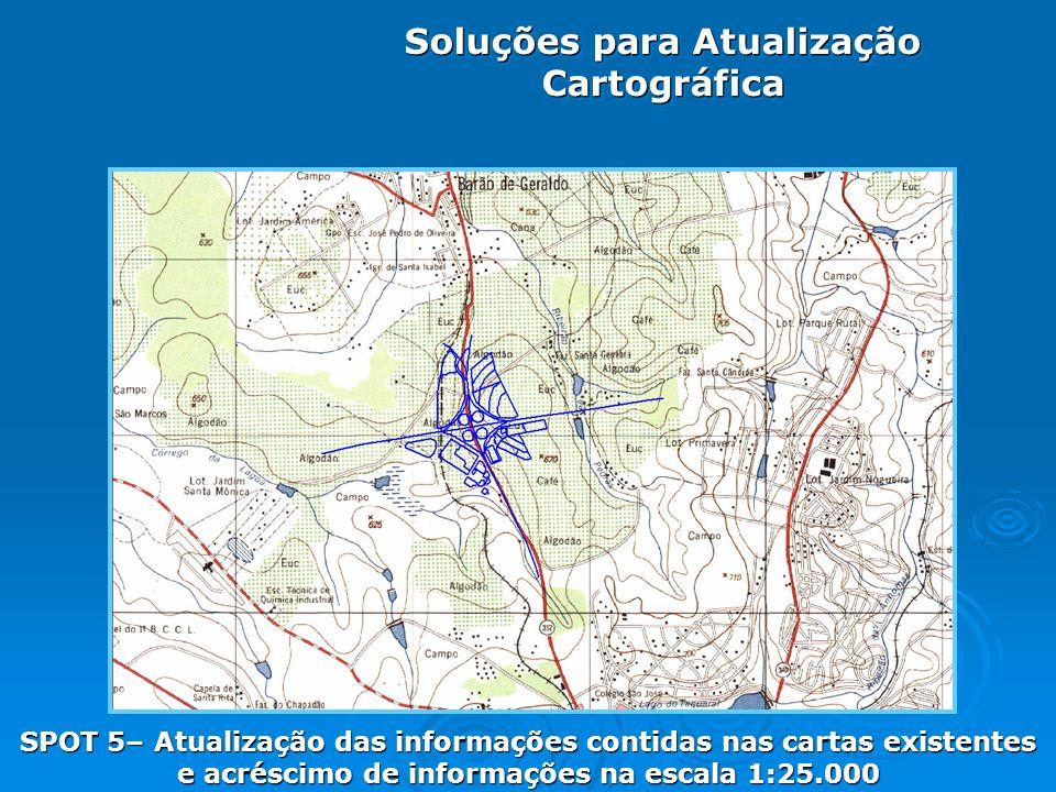 Soluções para Atualização Cartográfica