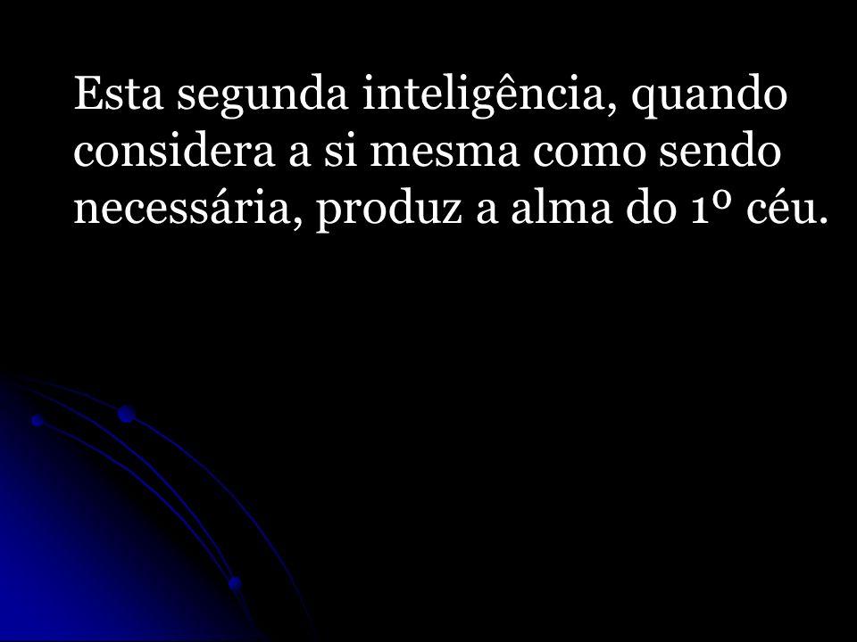 Esta segunda inteligência, quando