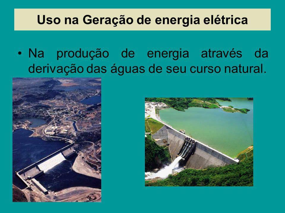 Uso na Geração de energia elétrica
