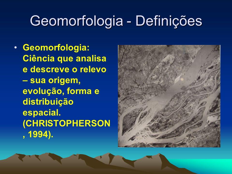 Geomorfologia - Definições