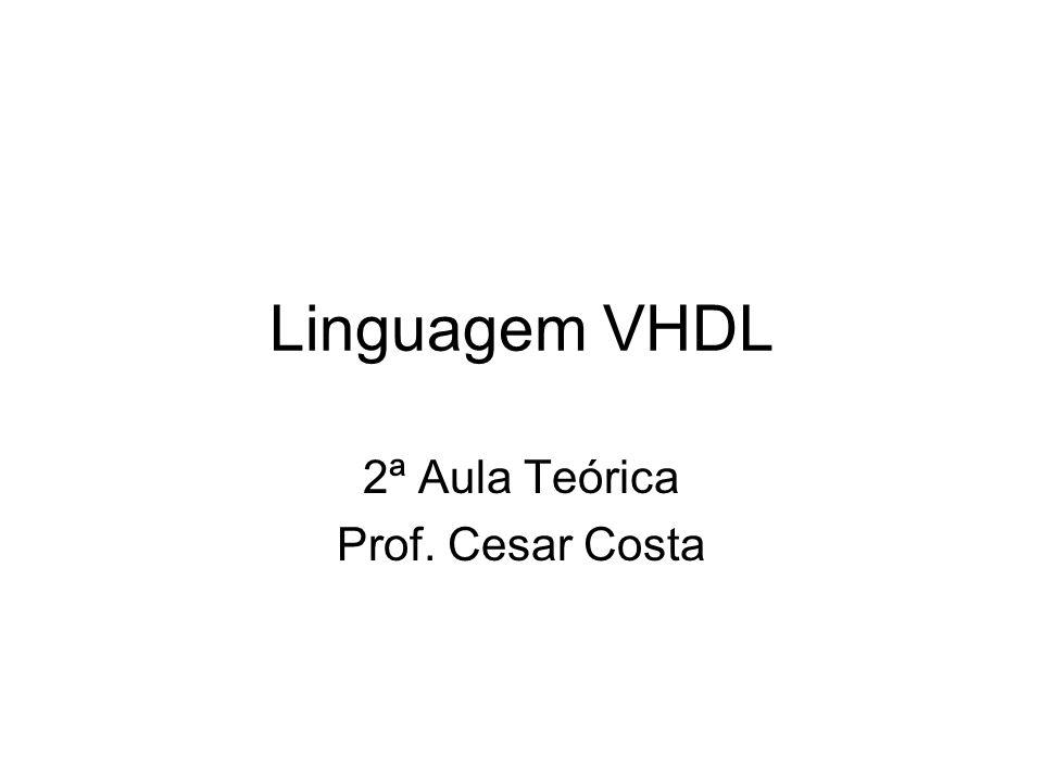 2ª Aula Teórica Prof. Cesar Costa