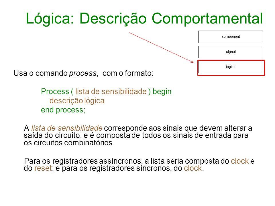 Lógica: Descrição Comportamental