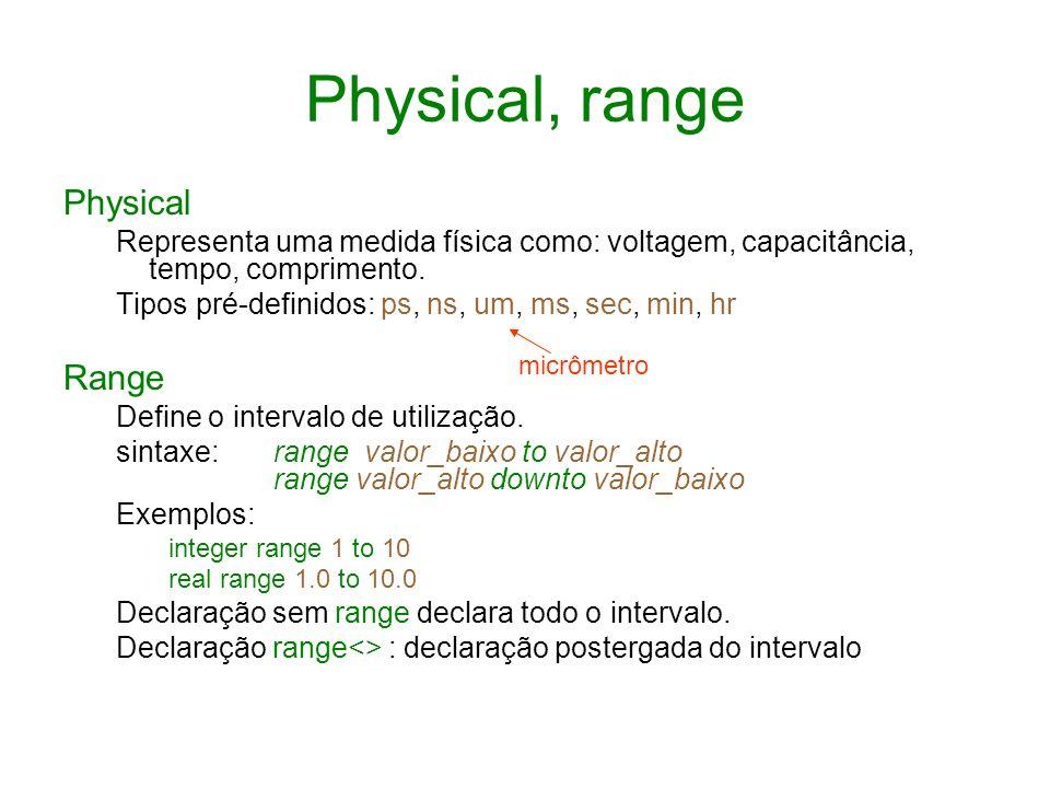 Physical, range Physical Range