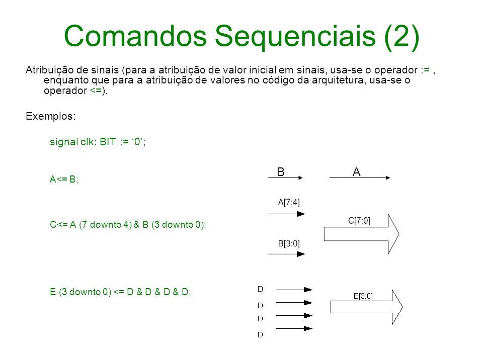 Comandos Sequenciais (2)