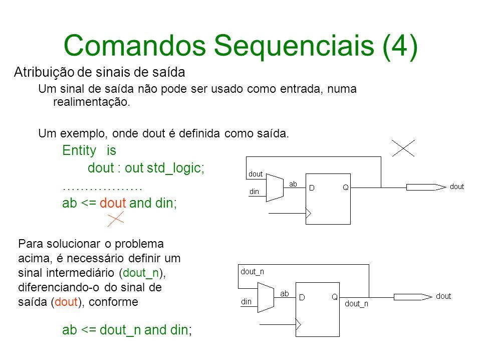 Comandos Sequenciais (4)