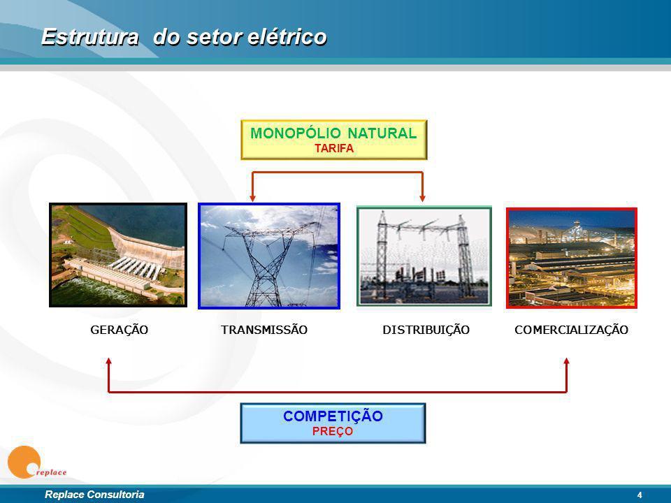 Estrutura do setor elétrico