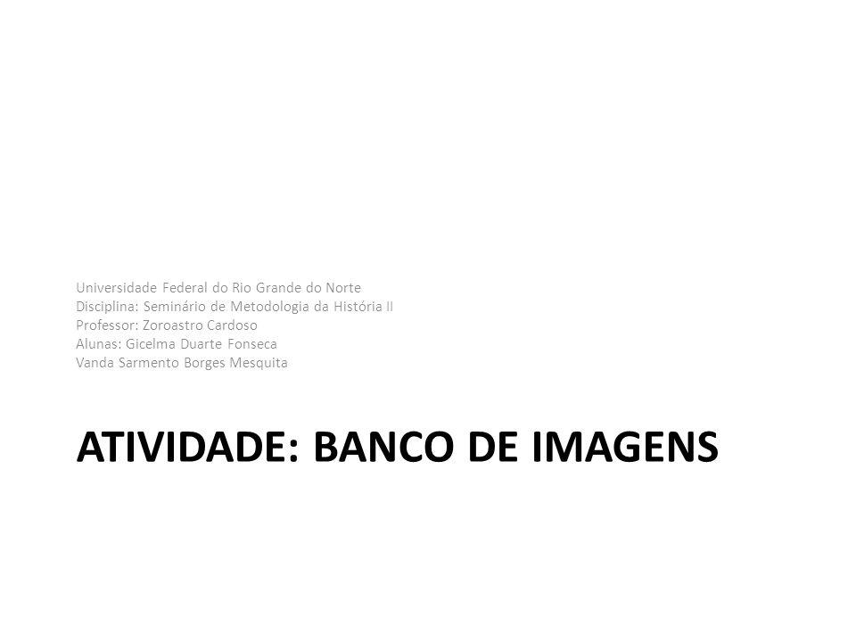 Atividade: Banco de imagens