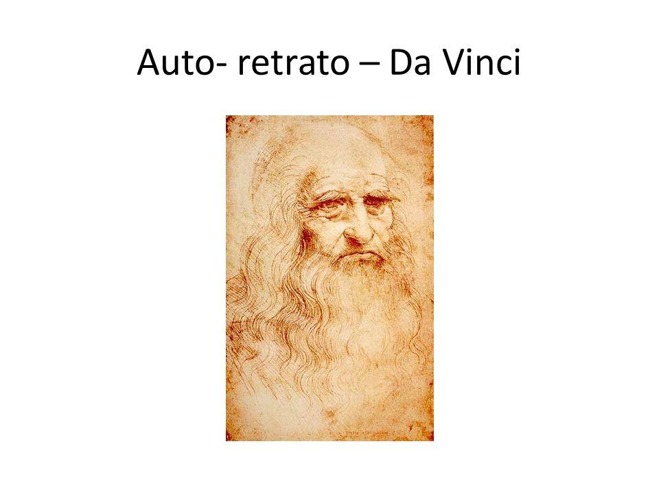 Auto- retrato – Da Vinci