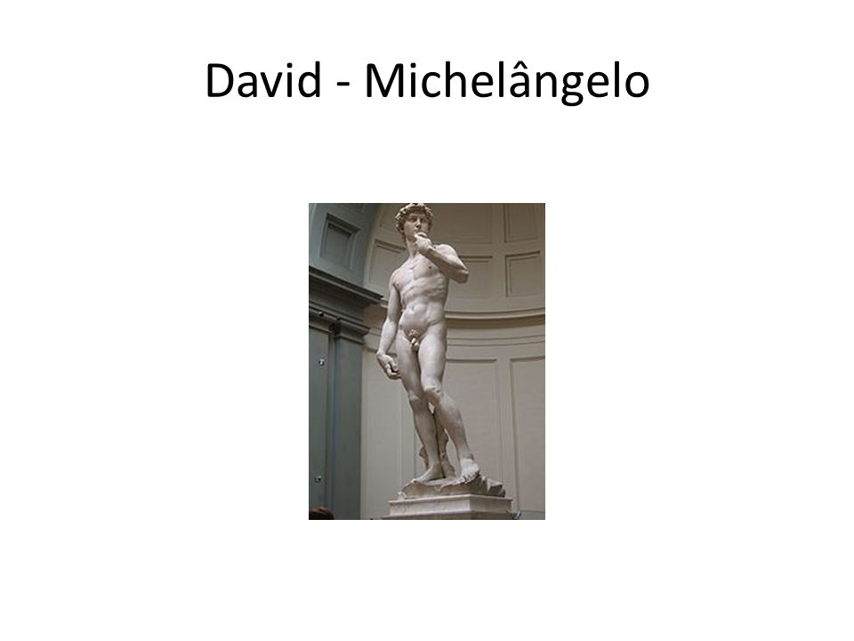 David - Michelângelo