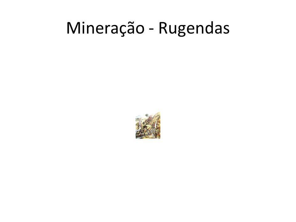 Mineração - Rugendas