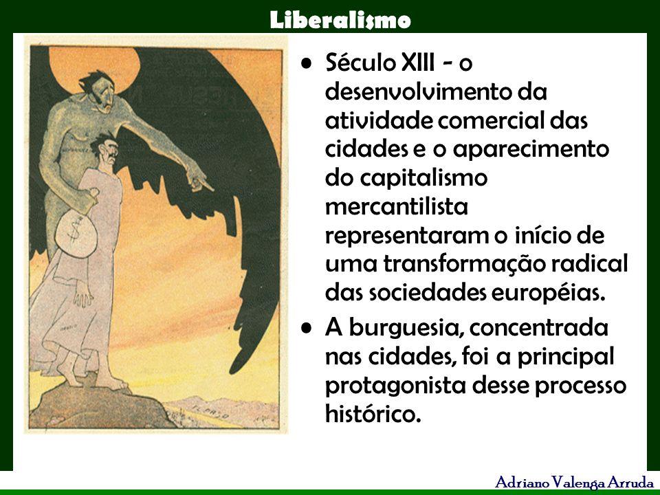 Século XIII - o desenvolvimento da atividade comercial das cidades e o aparecimento do capitalismo mercantilista representaram o início de uma transformação radical das sociedades européias.