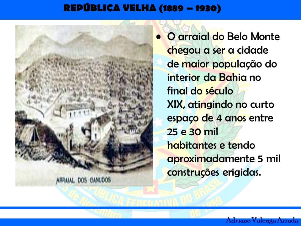 O arraial do Belo Monte chegou a ser a cidade de maior população do interior da Bahia no final do século XIX, atingindo no curto espaço de 4 anos entre 25 e 30 mil habitantes e tendo aproximadamente 5 mil construções erigidas.