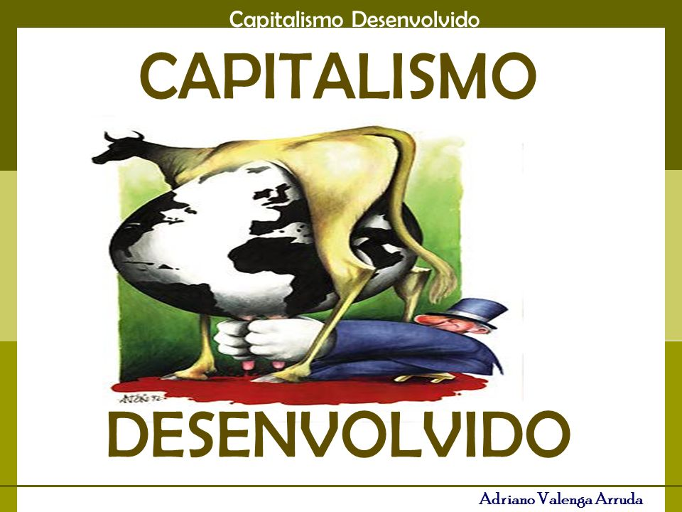 CAPITALISMO DESENVOLVIDO