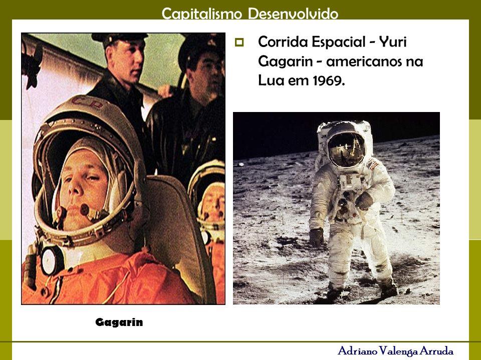 Corrida Espacial - Yuri Gagarin - americanos na Lua em 1969.