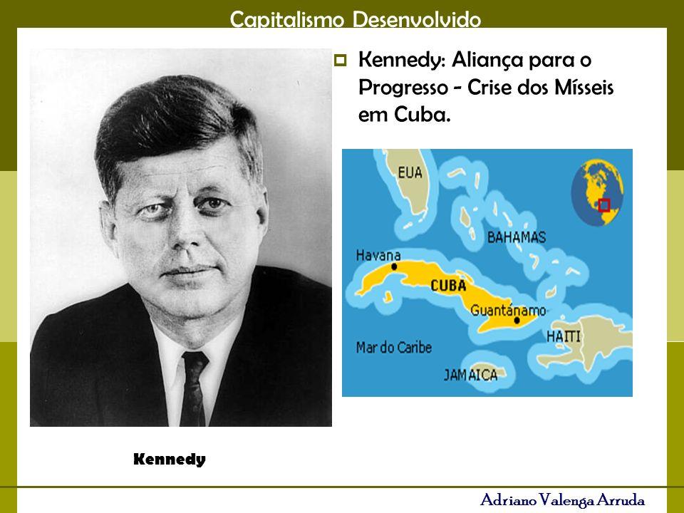 Kennedy: Aliança para o Progresso - Crise dos Mísseis em Cuba.