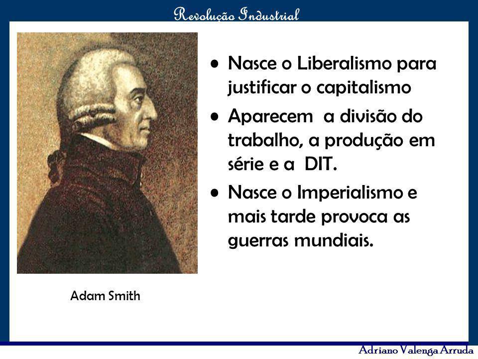 Nasce o Liberalismo para justificar o capitalismo