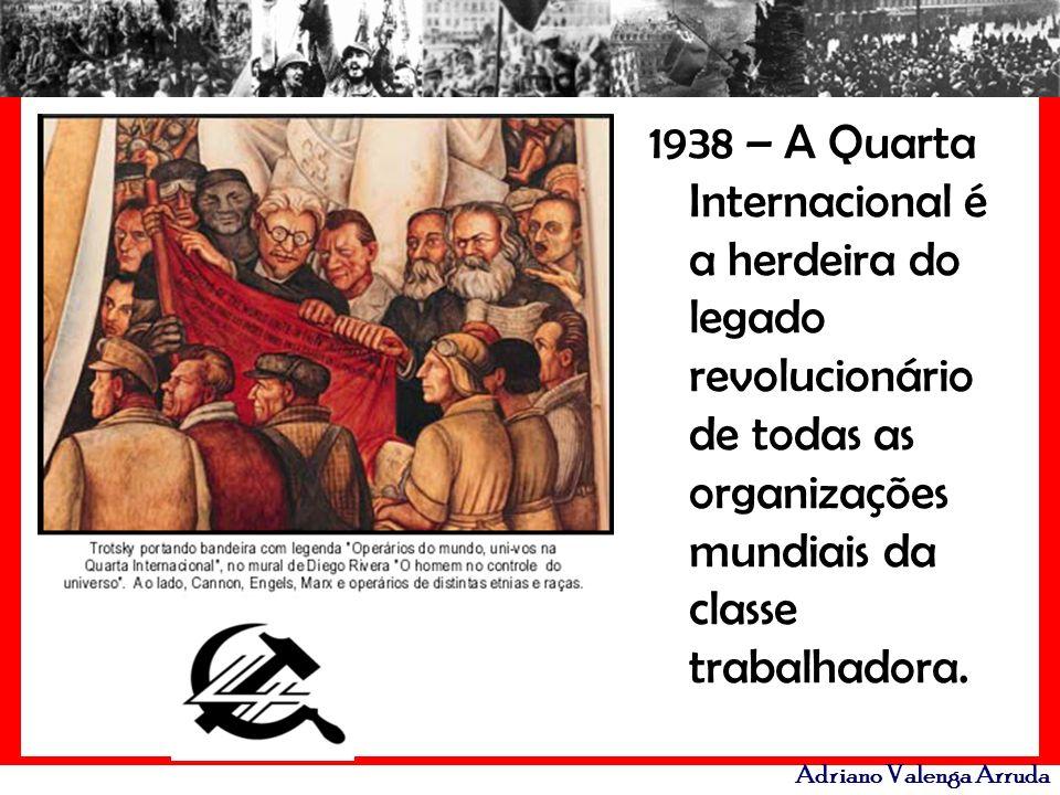 1938 – A Quarta Internacional é a herdeira do legado revolucionário de todas as organizações mundiais da classe trabalhadora.