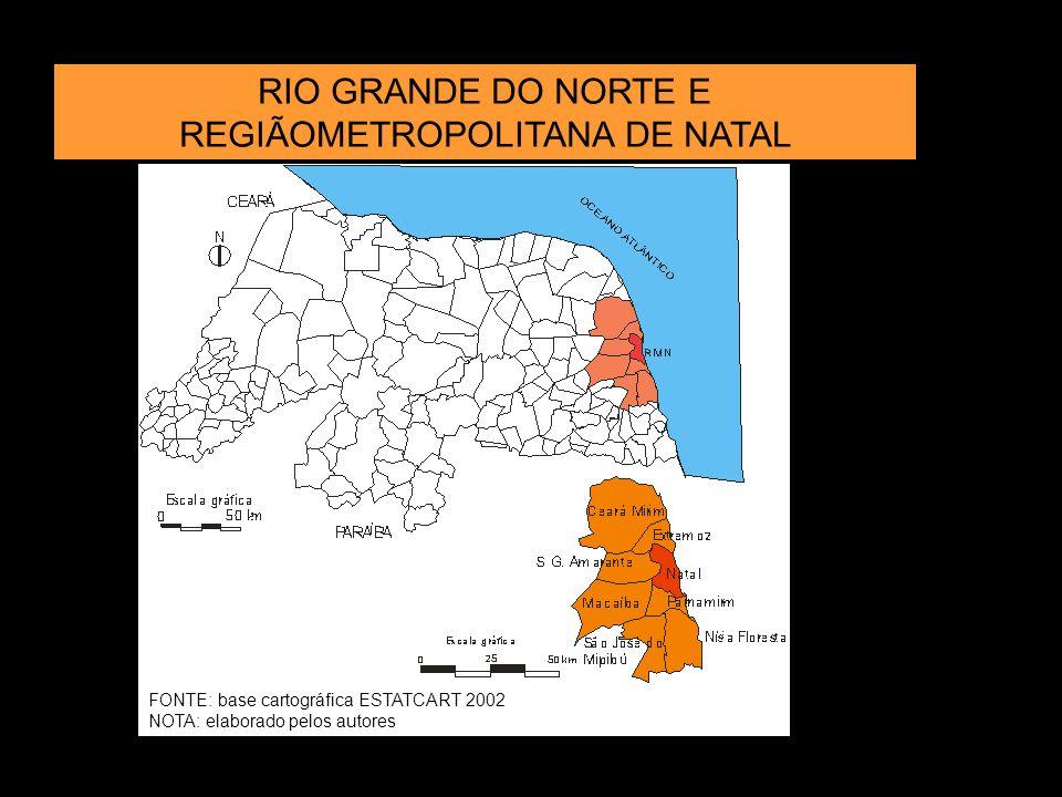 RIO GRANDE DO NORTE E REGIÃOMETROPOLITANA DE NATAL