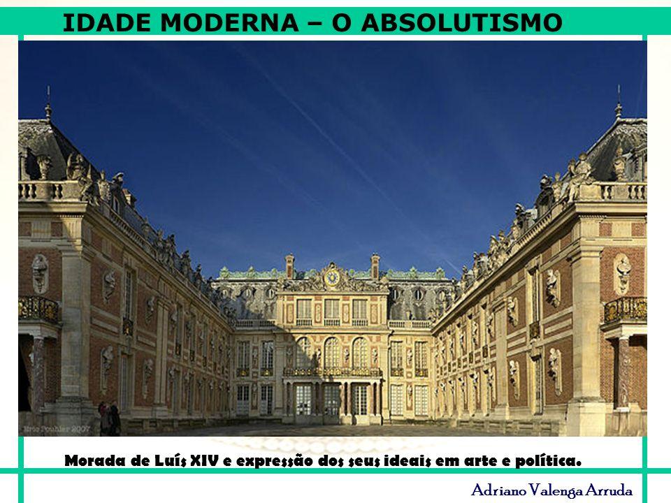 Morada de Luís XIV e expressão dos seus ideais em arte e política.