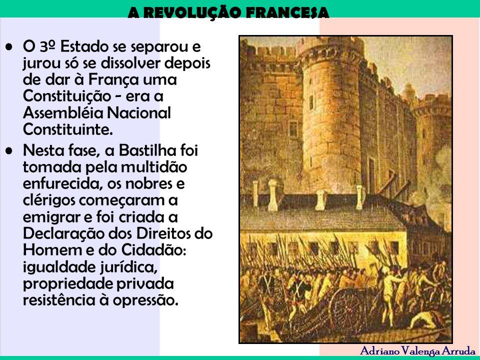 O 3º Estado se separou e jurou só se dissolver depois de dar à França uma Constituição - era a Assembléia Nacional Constituinte.