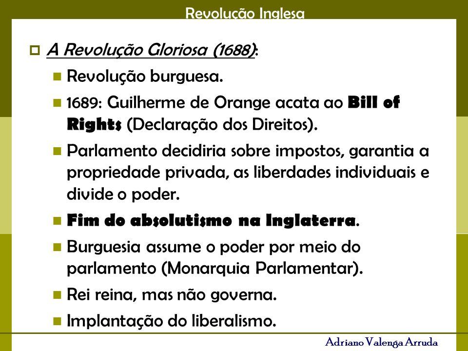 A Revolução Gloriosa (1688):