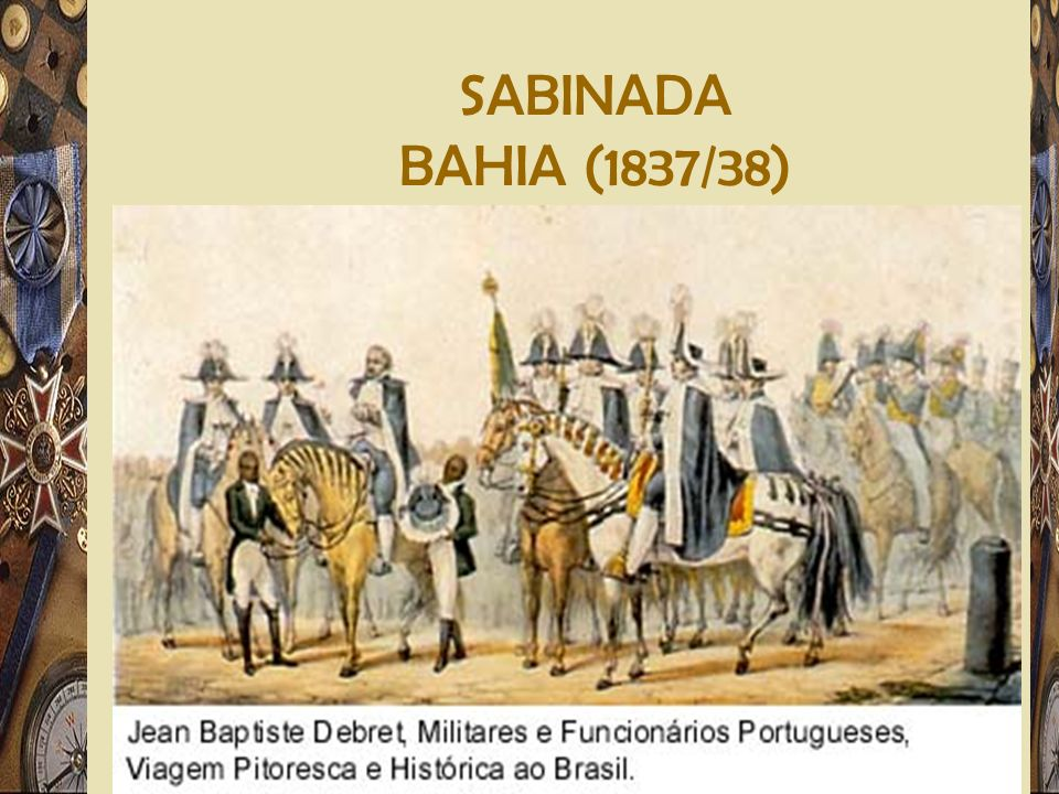 SABINADA BAHIA (1837/38)