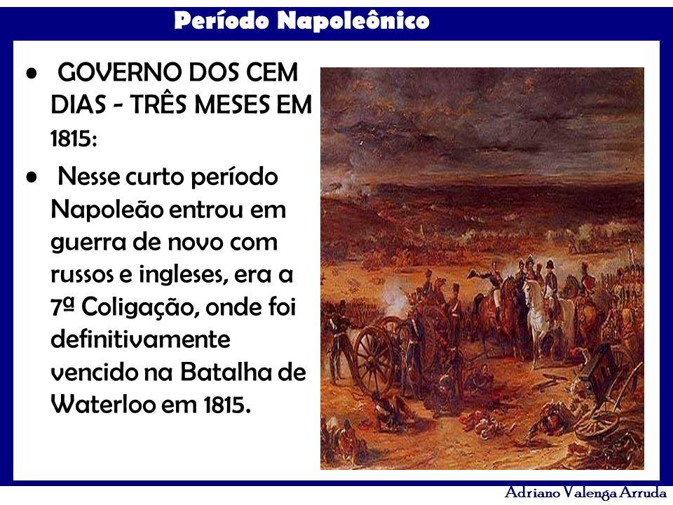 GOVERNO DOS CEM DIAS - TRÊS MESES EM 1815: