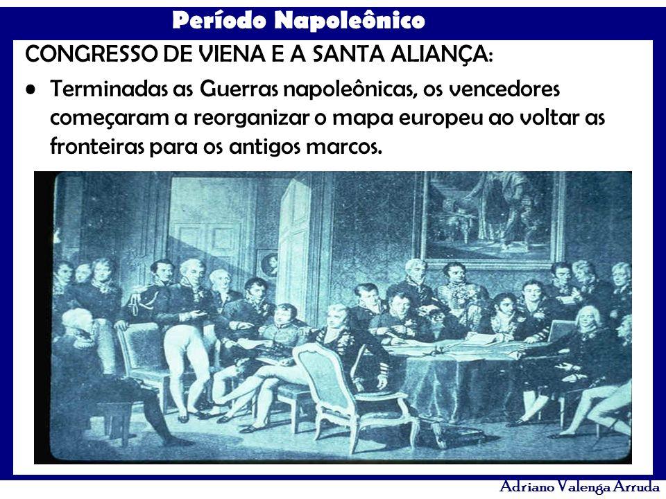 CONGRESSO DE VIENA E A SANTA ALIANÇA: