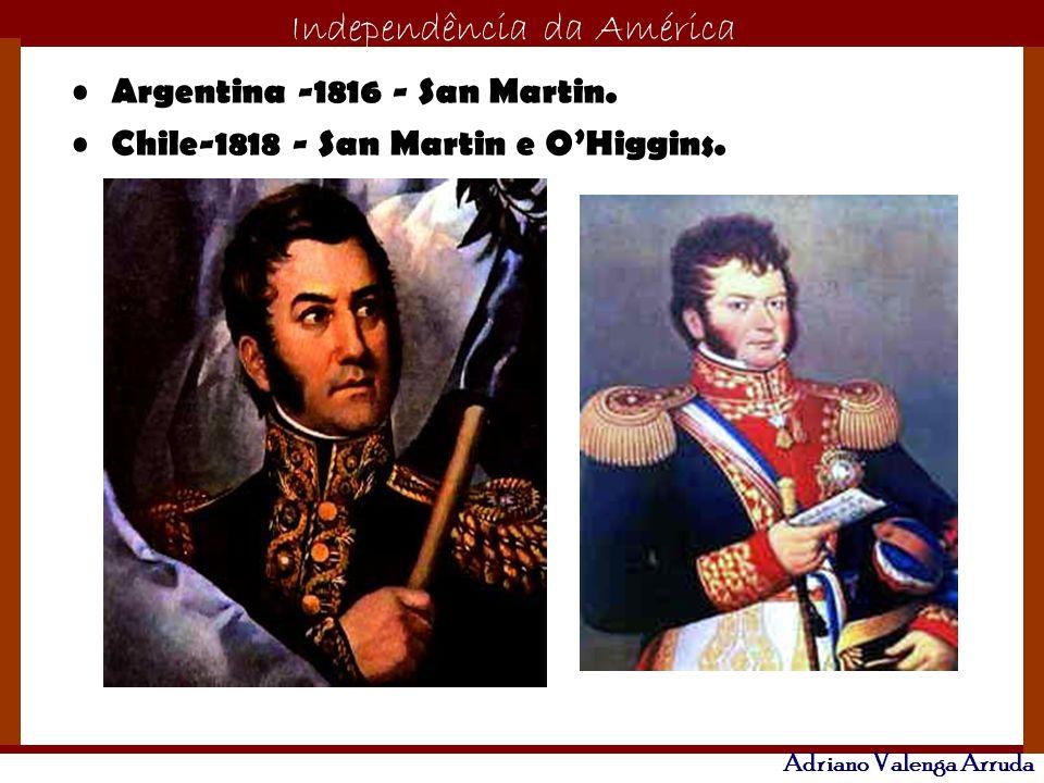 Argentina -1816 - San Martin.