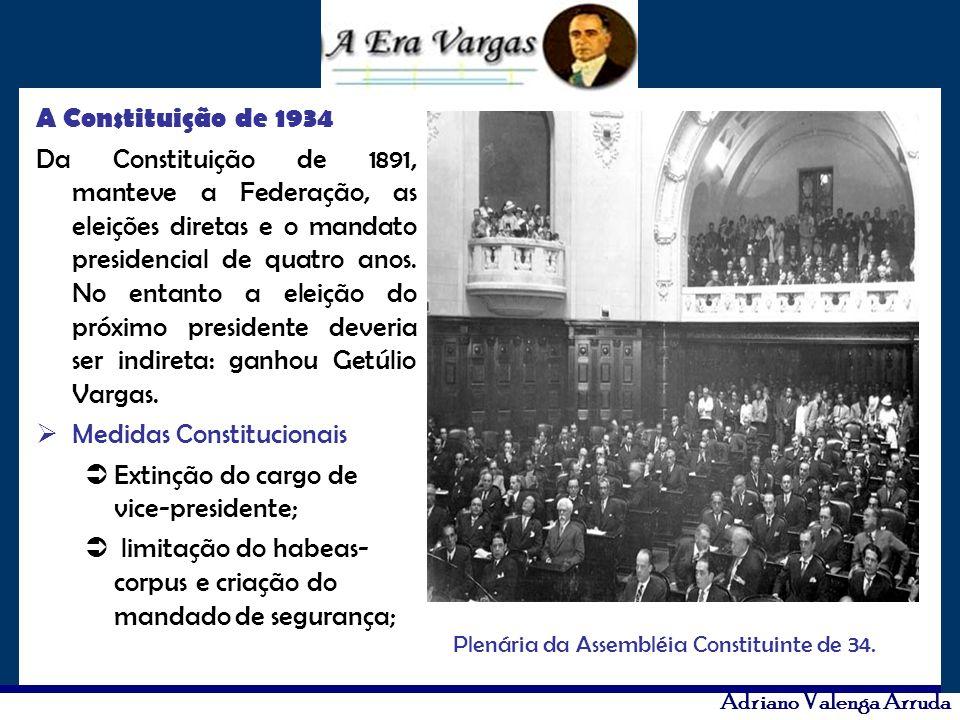 Plenária da Assembléia Constituinte de 34.