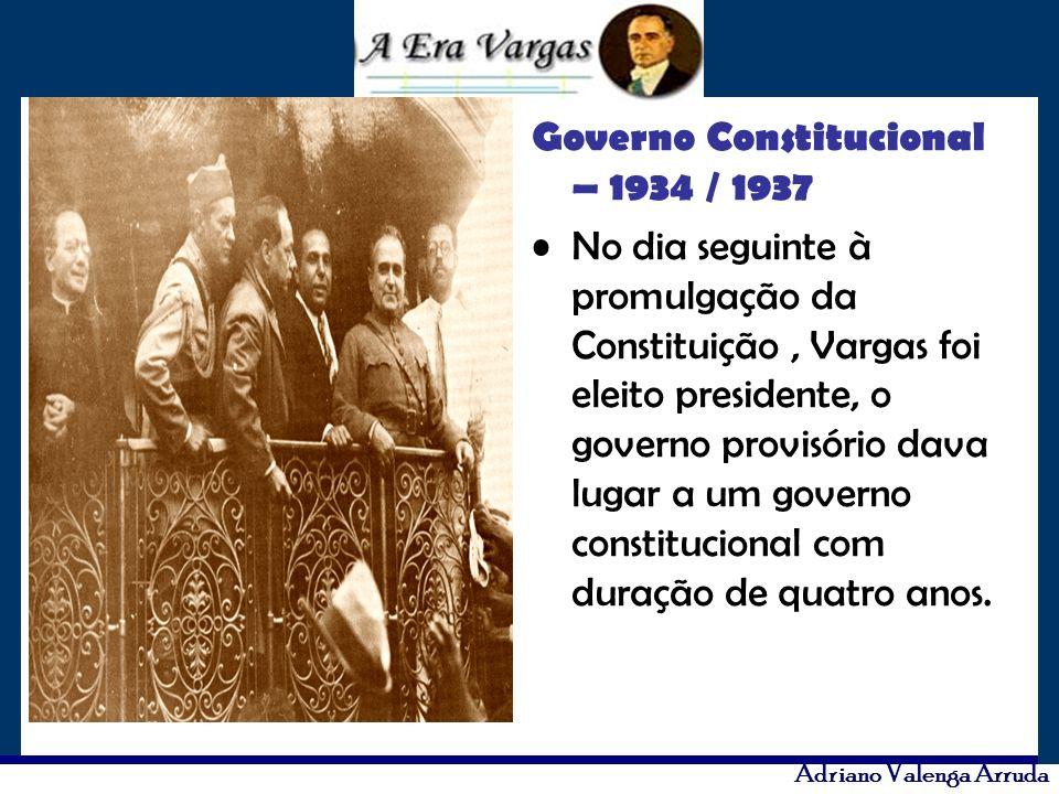 Governo Constitucional – 1934 / 1937